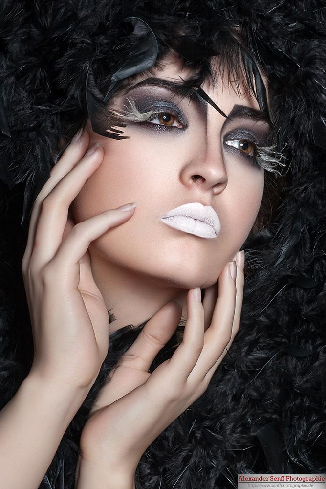 ausgefallenes Make Up