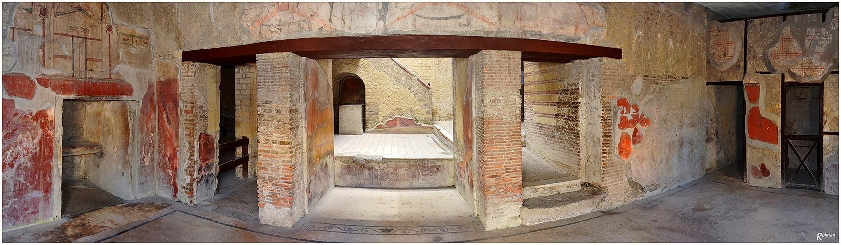 Ausgrabung Herculaneum  in Neapel