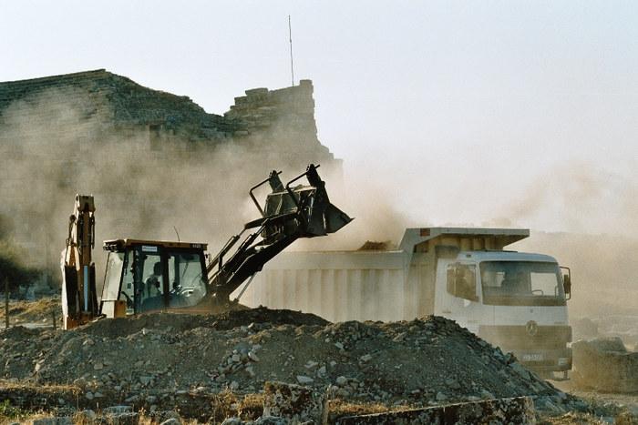 Ausgrabungen....