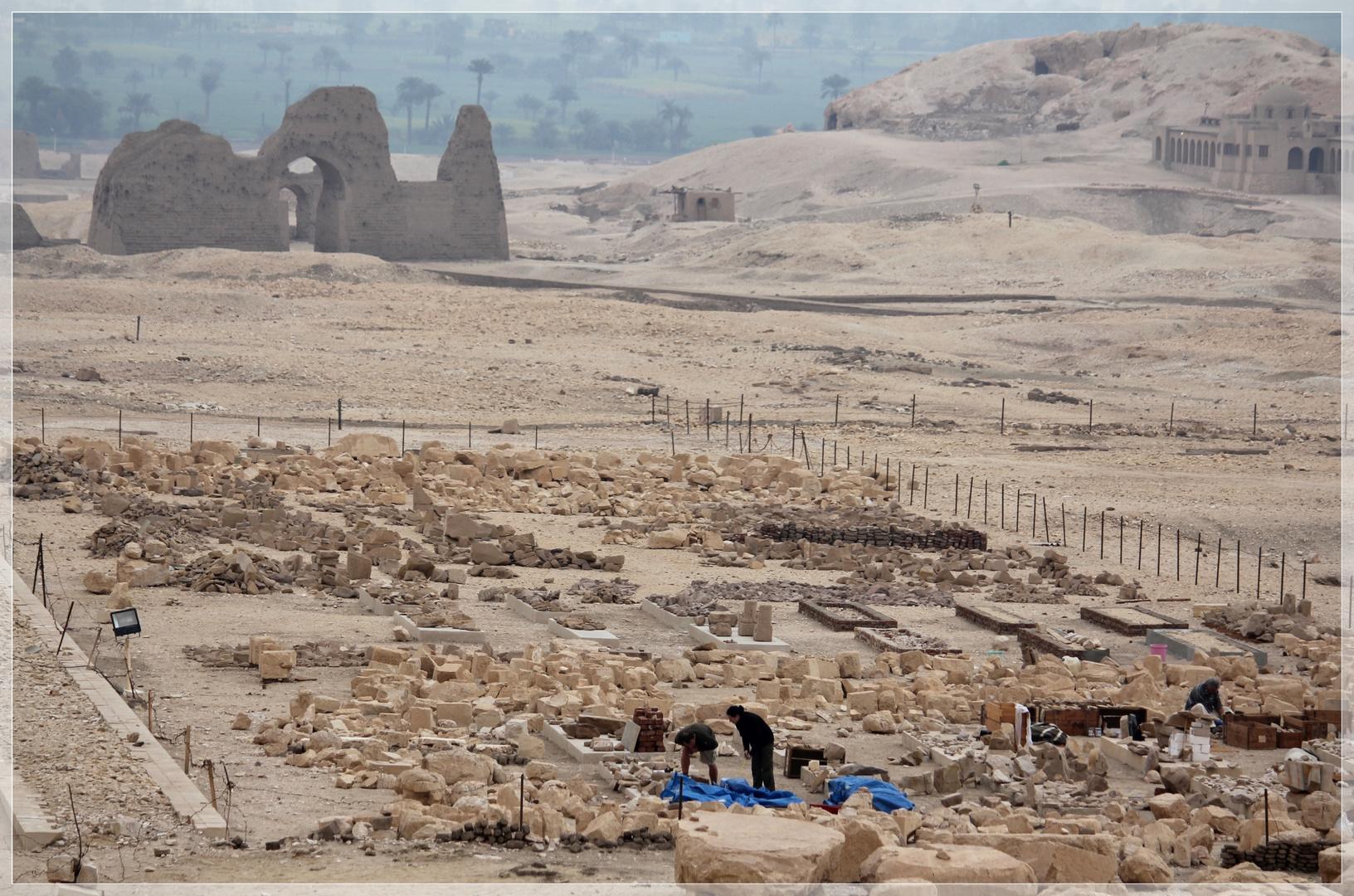 Ausgrabungen am Hatschepsut
