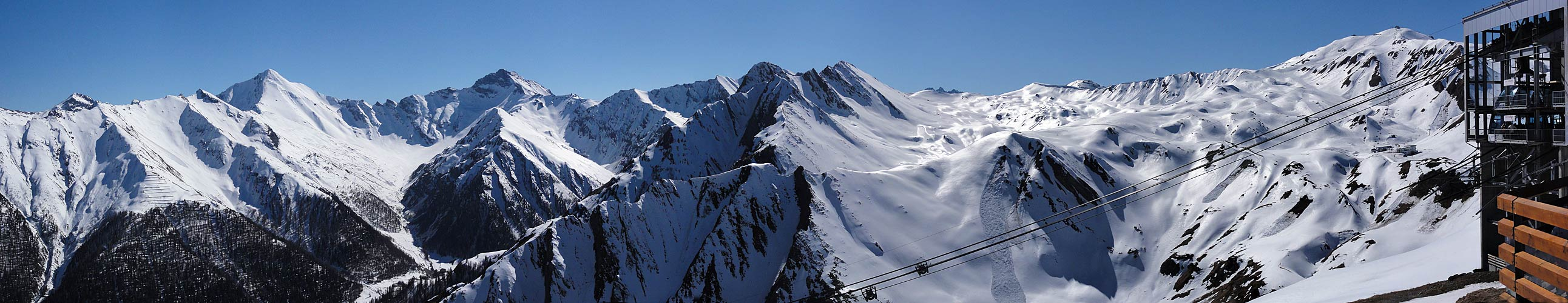 Ausklingender Skitag