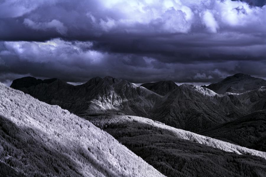 Ausläufer der Dolomiten - Dreifingerspitze