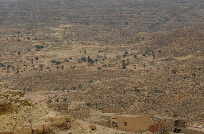 Ausläufer des Atlasgebirges