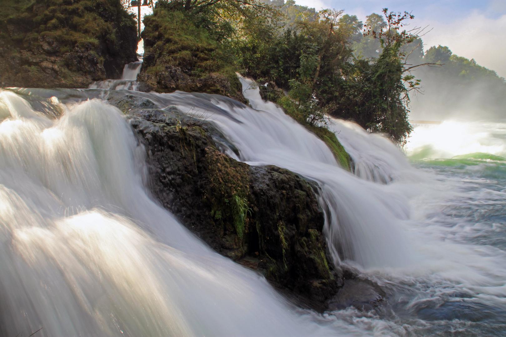 Ausläufer des Rheinfalls