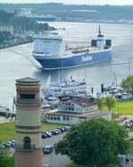 Auslauf in Richtung Skandinavien