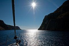 Auslaufen aus Kalymnos Ormos Vathis