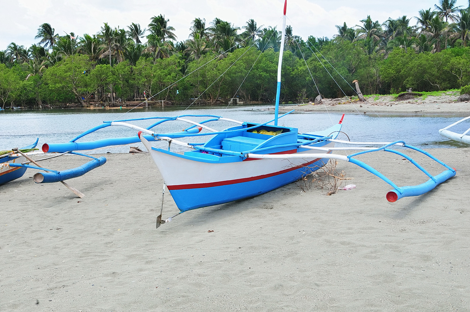 """ Auslegerboot "" , Panay - Aklan 2009"