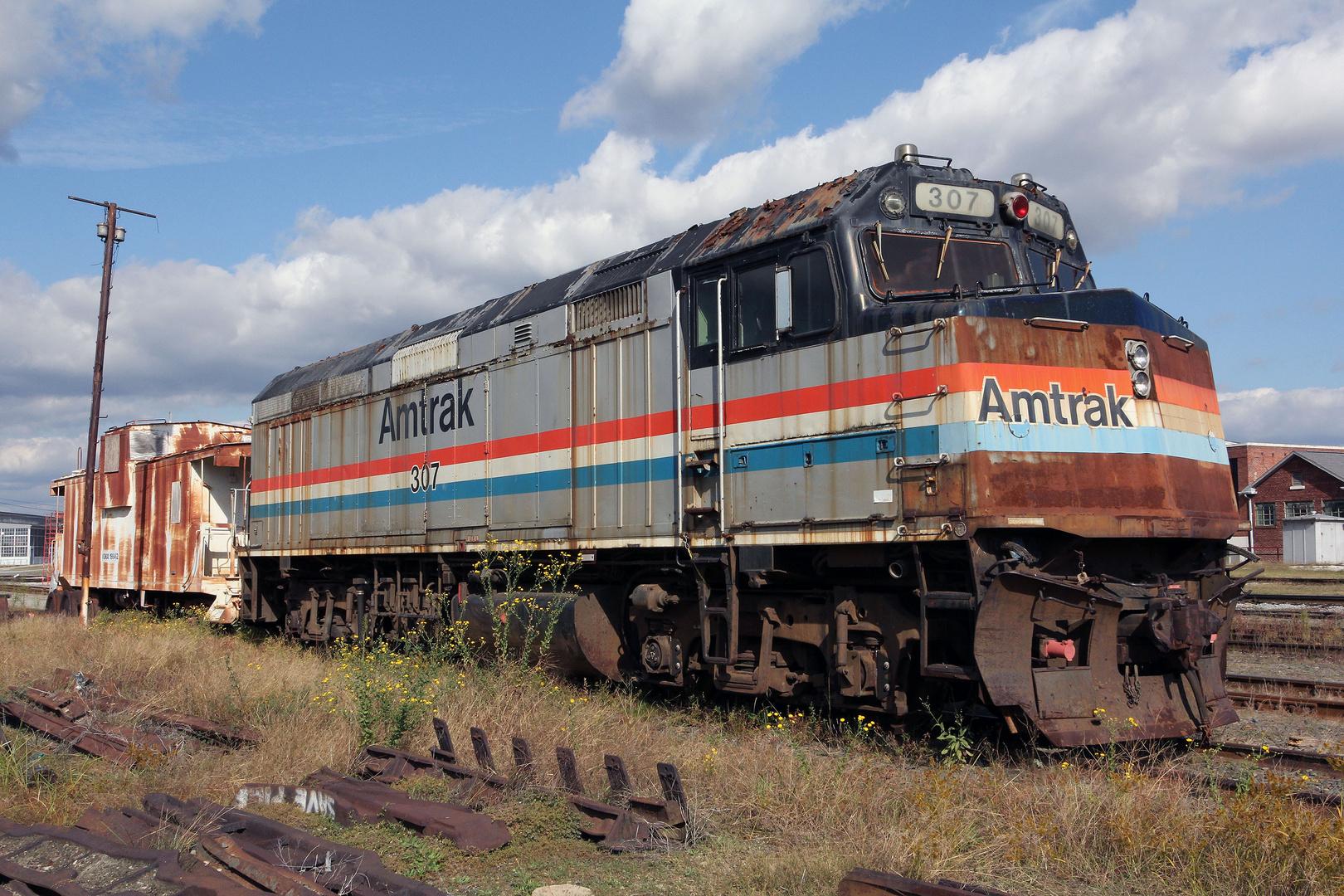 Ausrangiert: EMD F40PH Phase III, AMTK#307, USA