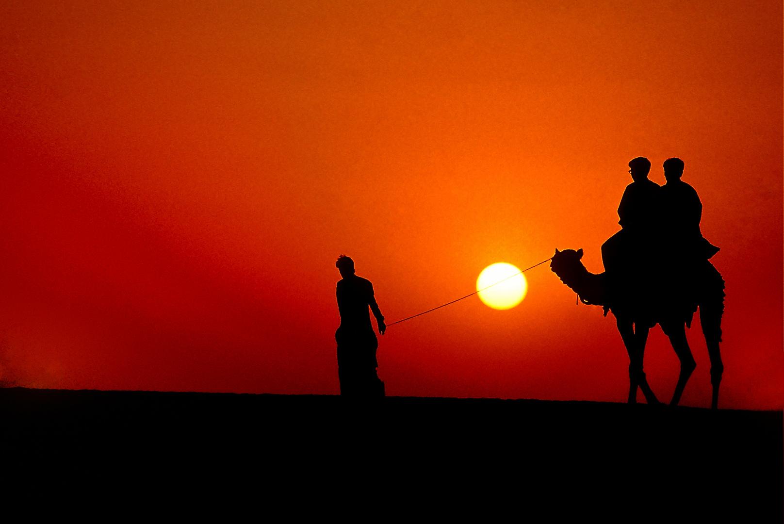 Ausritt in die Wüste Thar
