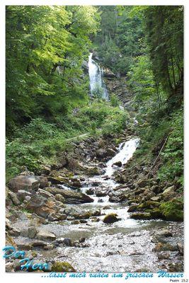 Ausruhen am frischen Wasser....Psalm 23,2
