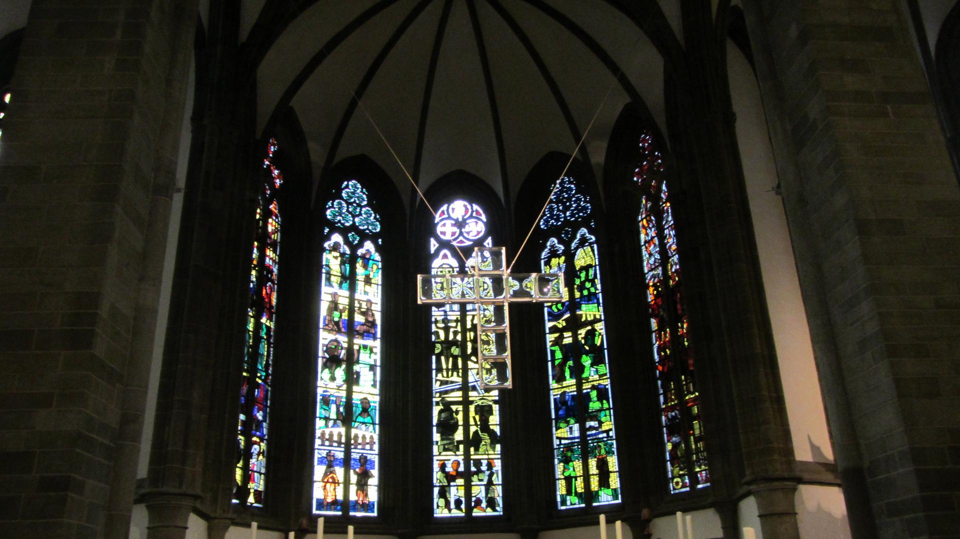 Ausschnitt Innen St. Petri (Soest)