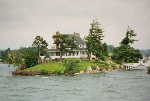 Ausschnitt Insel mit Haus