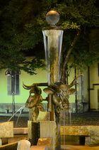 Ausschnitt vom Ochsenbrunnen
