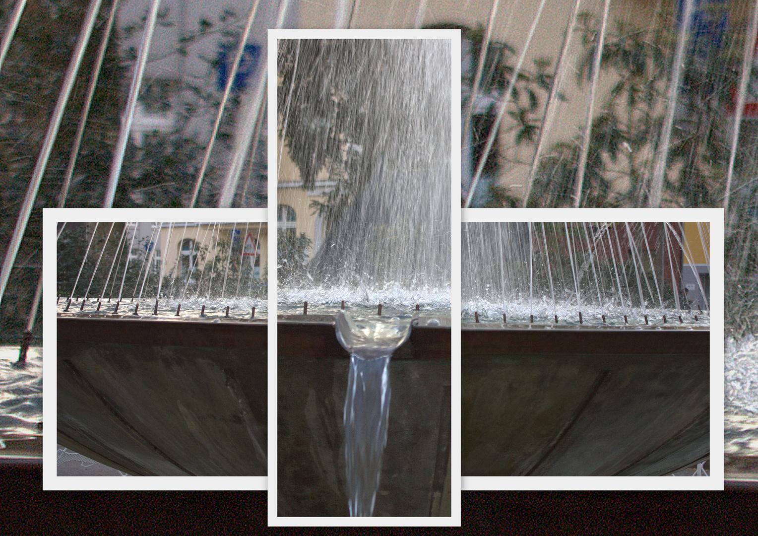 Ausschnitte eines Brunnens