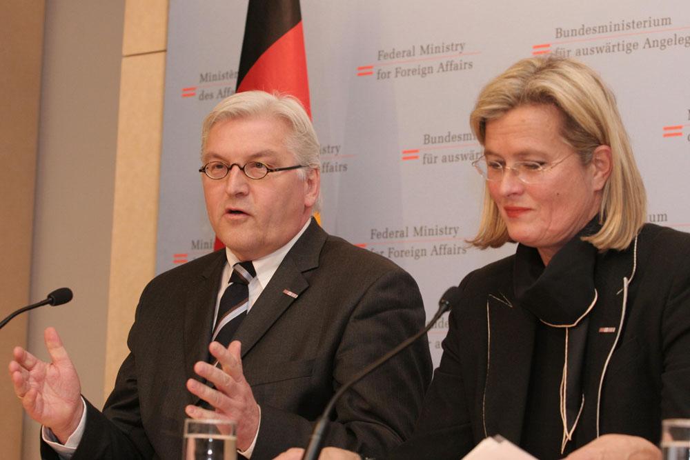 Außenminister Steinmeier, BRD