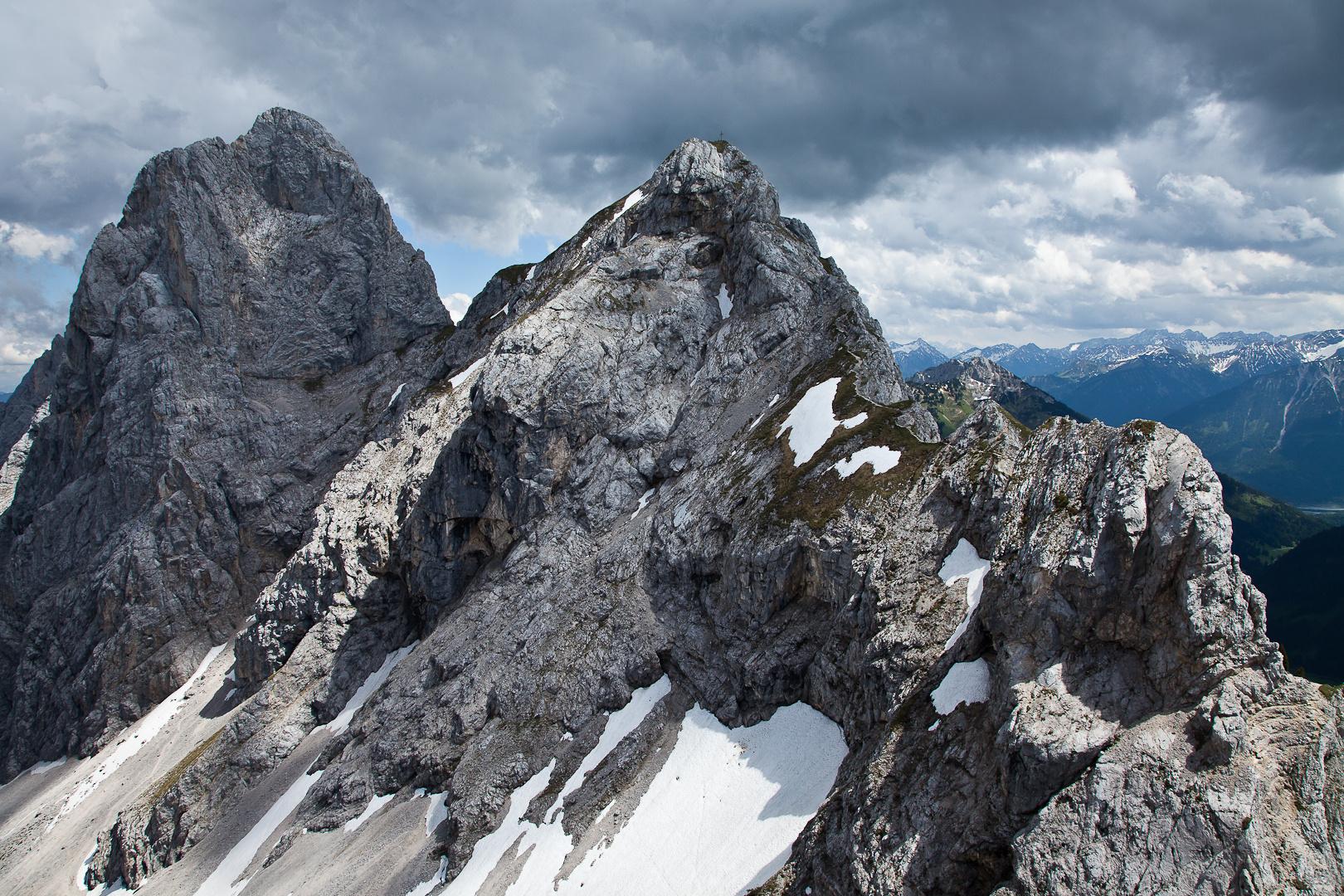 Aussicht am Klettersteig