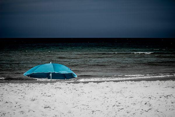 Aussicht am Strand