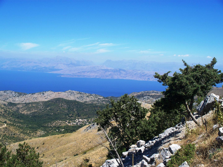Aussicht auf Albanien 2