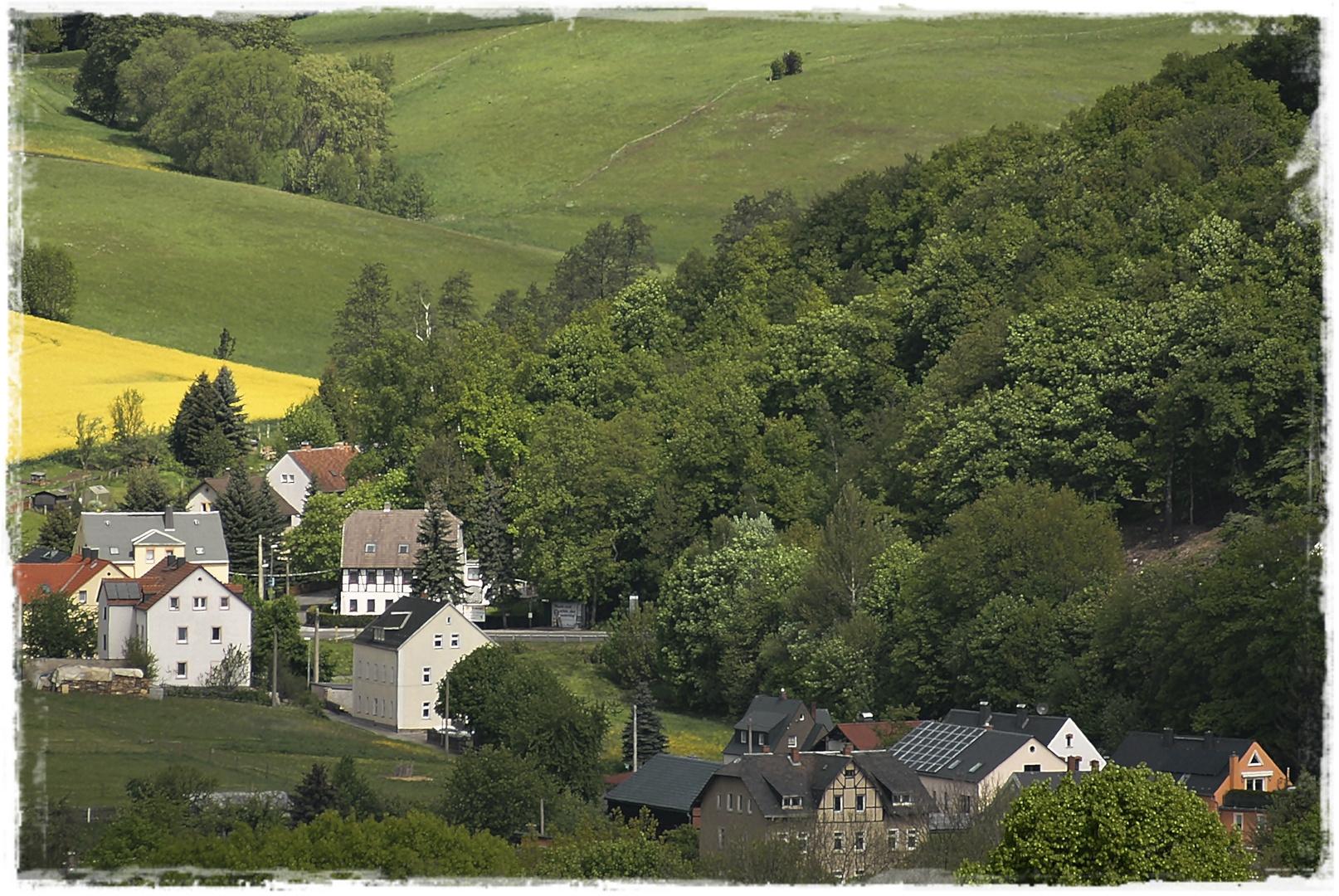 Aussicht auf Falkenau