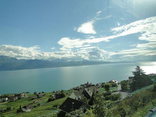 Aussicht auf Genfer See