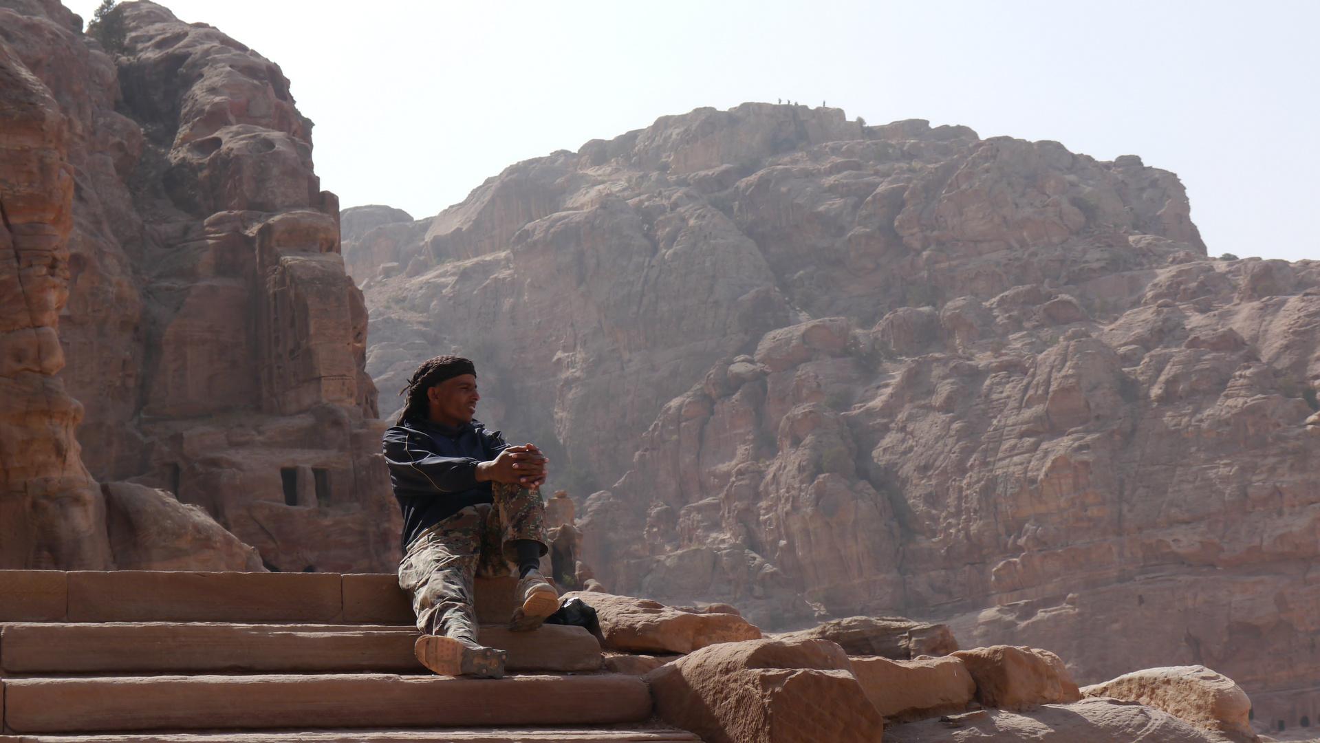 Aussicht in Petra