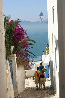 Aussicht in Sidi Bou Said