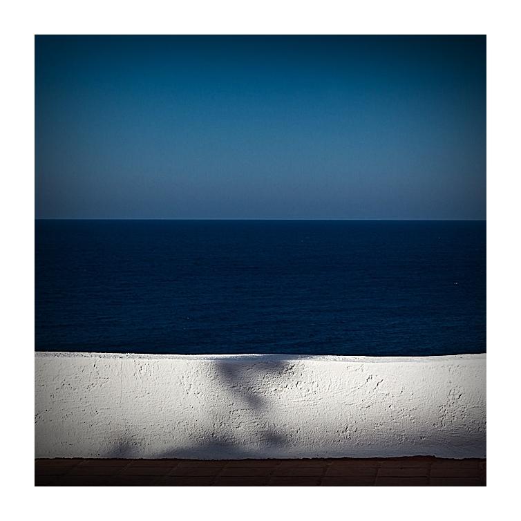Aussicht ins Blau