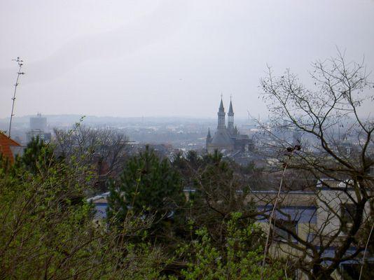 Aussicht über Aachen vom Pulverturm
