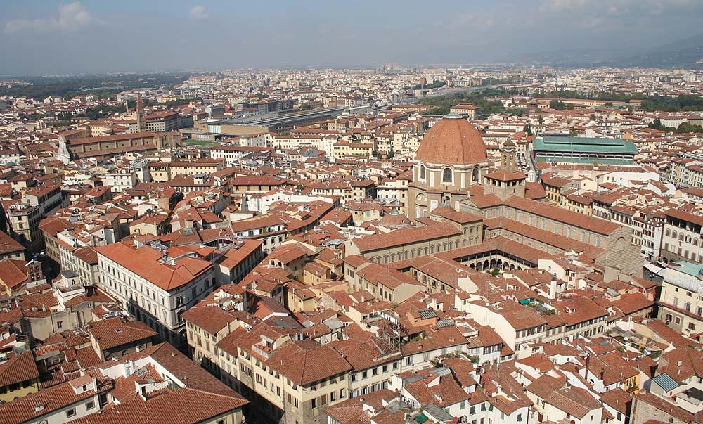 Aussicht über Florenz