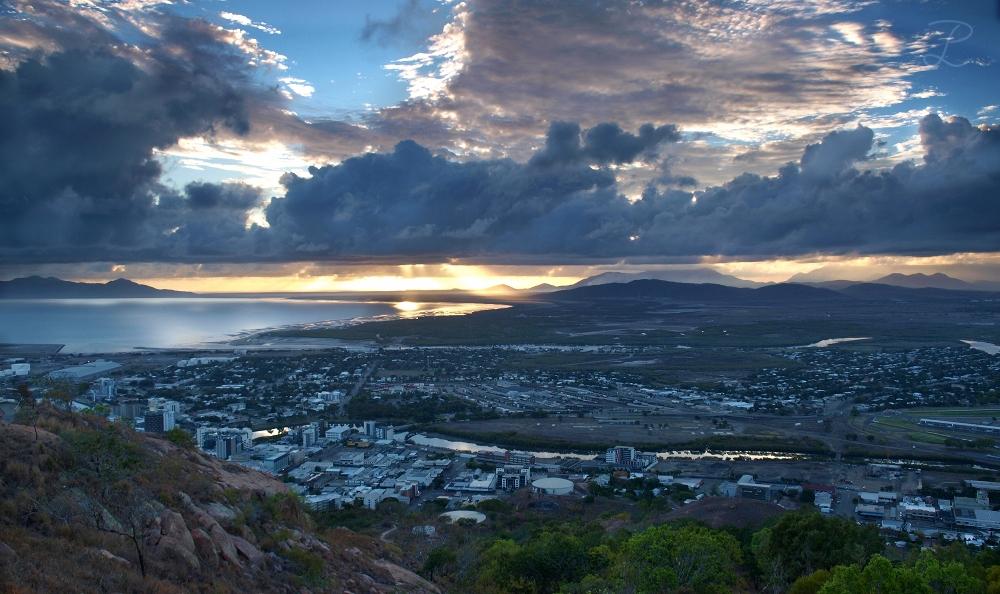 Aussicht über Townsville (Australien)