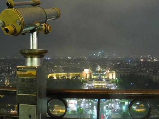 Aussicht vom Eiffelturm