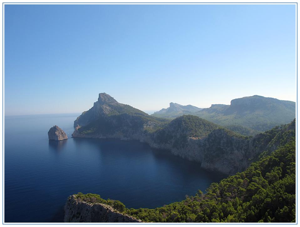 Aussicht vom Mirador es Colomer - Mallorca