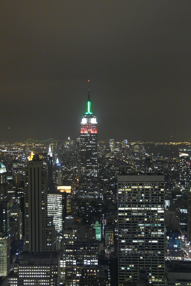 Aussicht vom Top of the Rock, Rockefeller Center