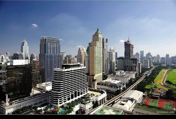Aussicht vom Zen Tower in Bangkok