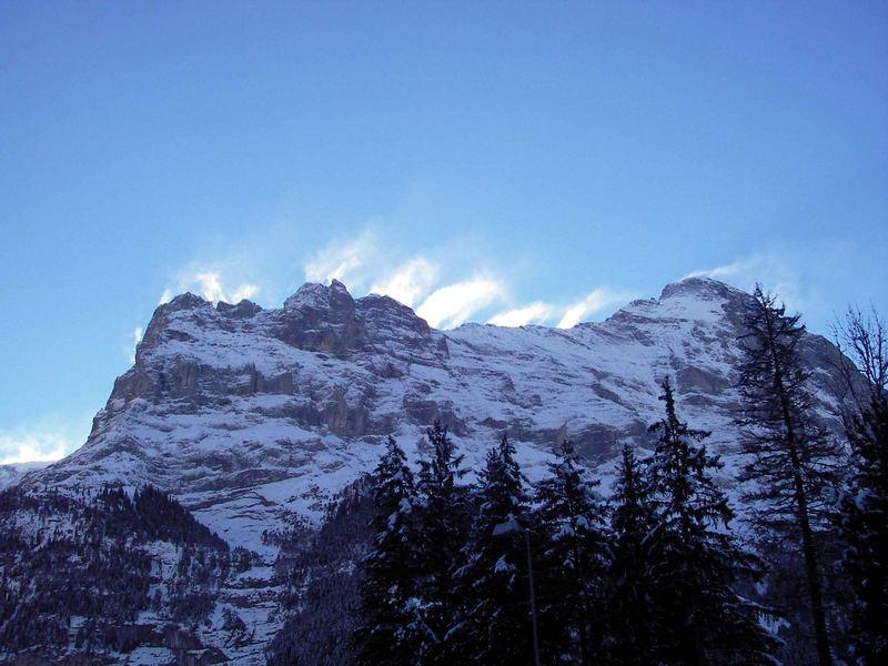 Aussicht von Grindelwald