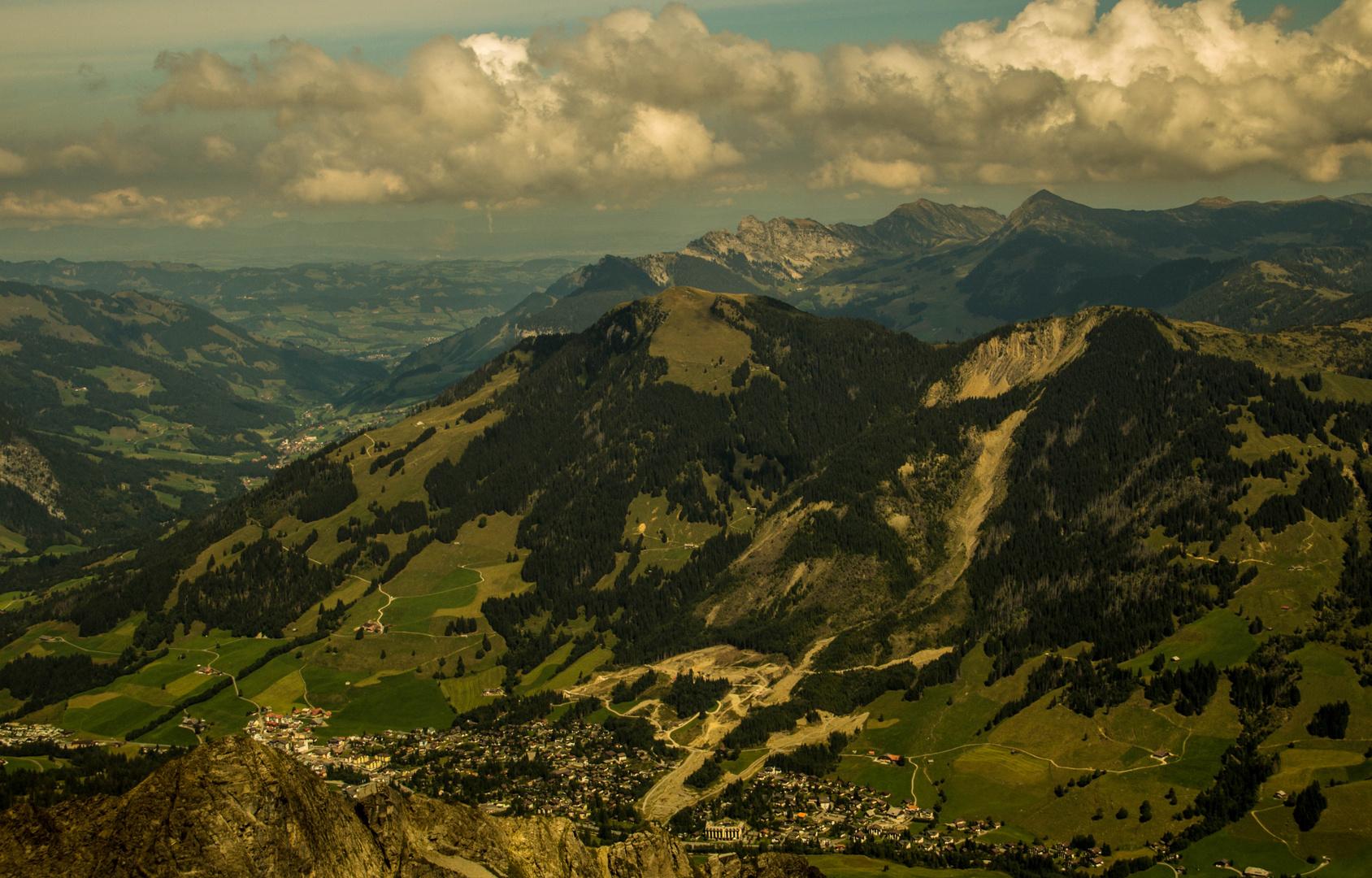 Aussicht von Rothorn Brienz