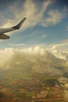 Aussichten eines Fluges