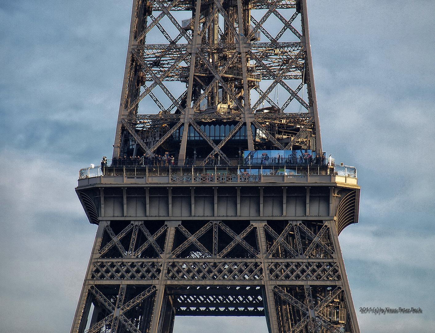 Aussichtsplattform 2. Etage Eiffelturm