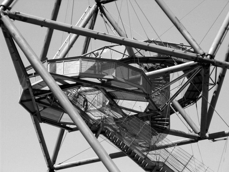 Aussichtsplattform des Tetraeders in Bottrop