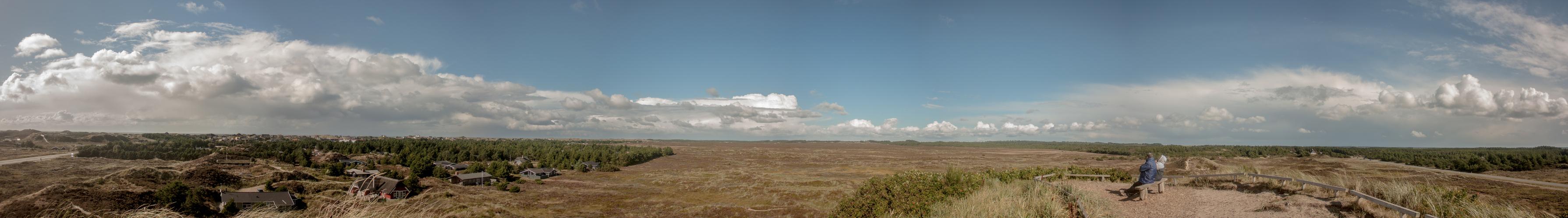 Aussichtsplattform in Dänemark