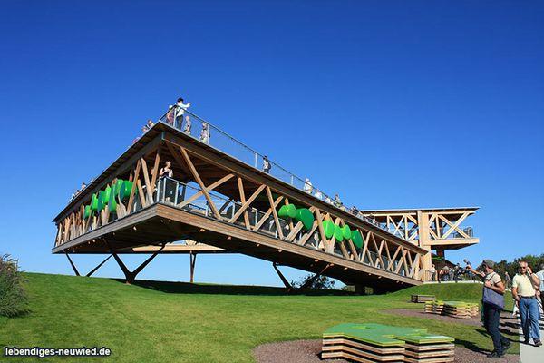 Aussichtsplattform in Koblenz