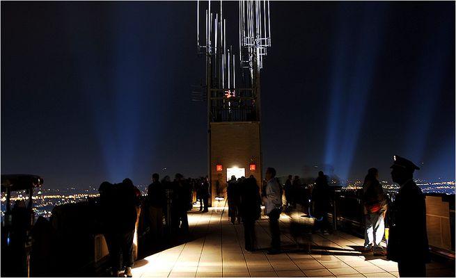 Aussichtsplatzform vom Rockefeller Center