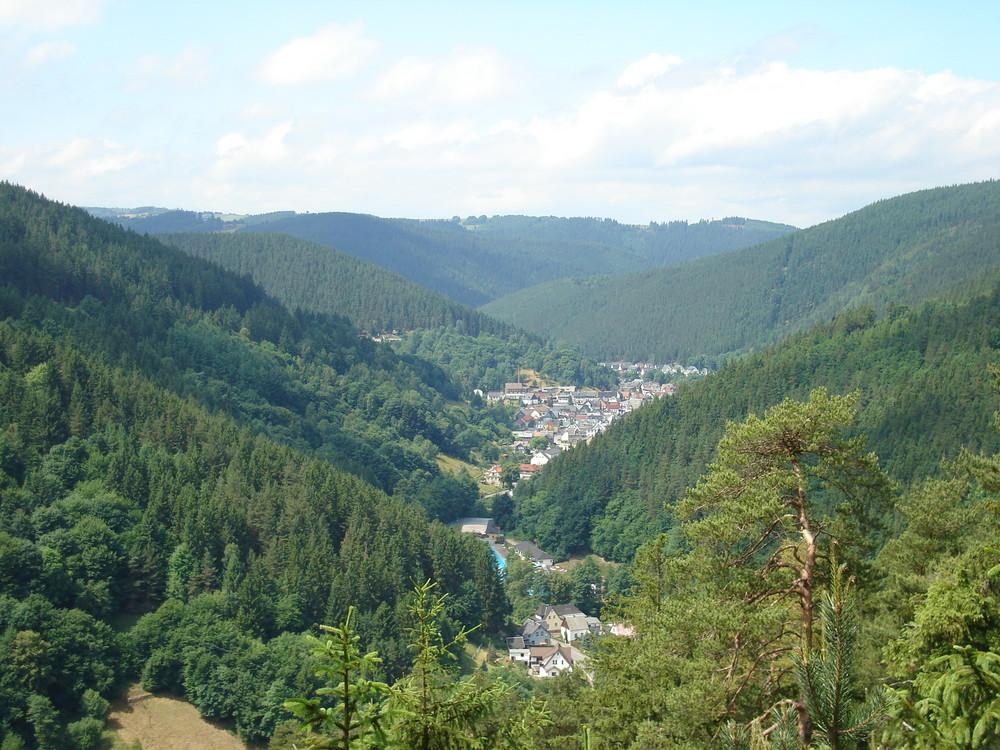Aussichtspunkt* Schau Ins Land* Sitzendorf