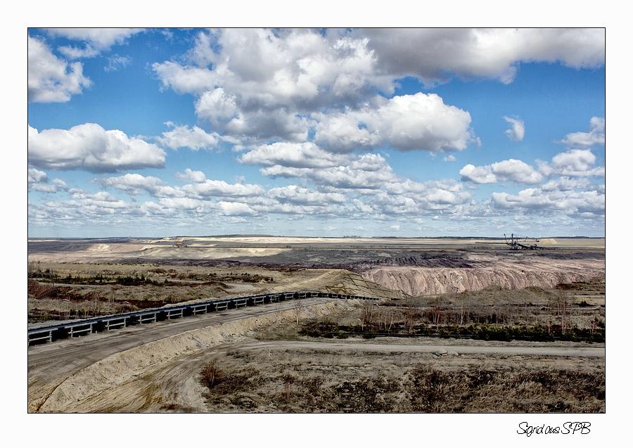 Aussichtspunkt Tagebau ...