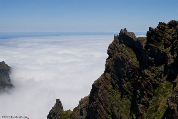 Aussichtspunkt über den Wolken