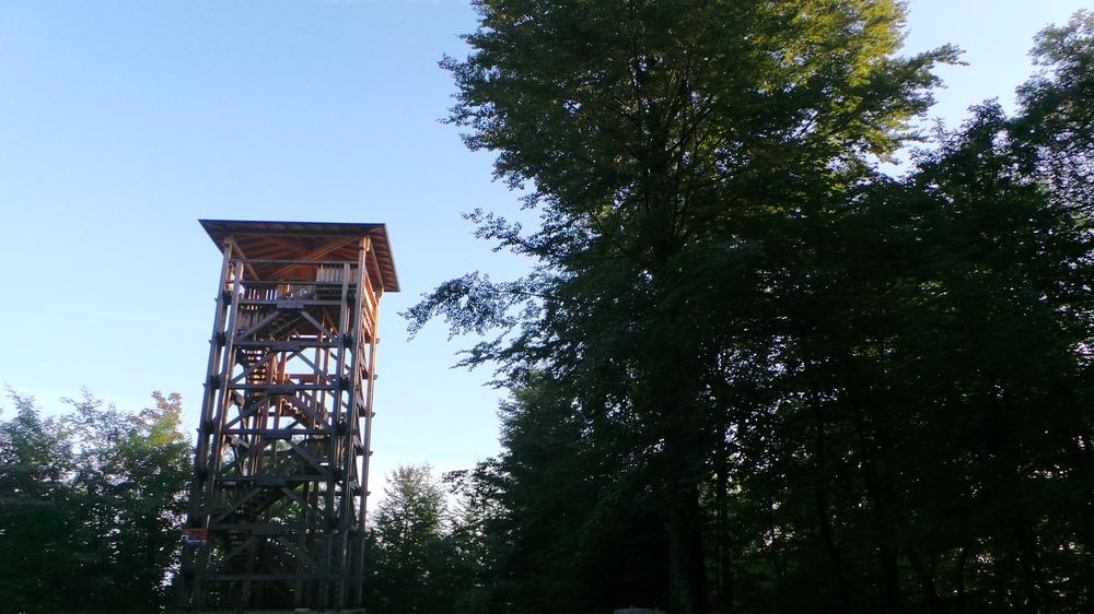 Aussichtsturm 25 Meterhoch