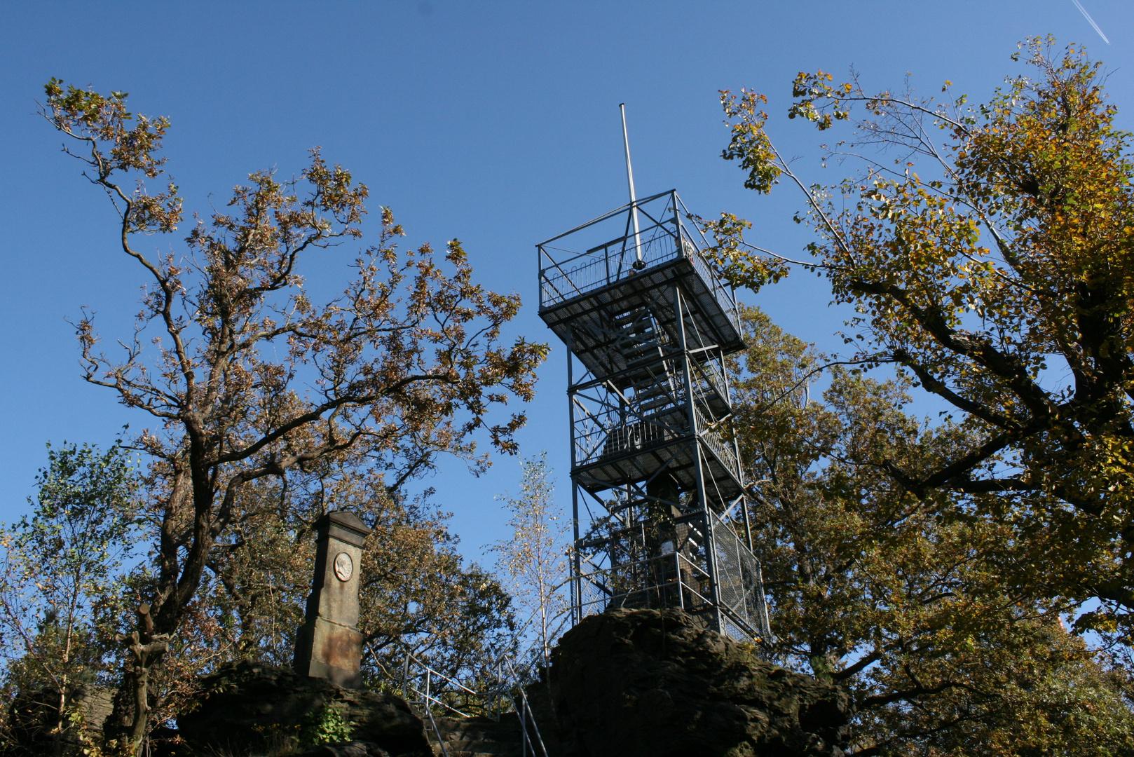 Aussichtsturm auf dem Keulenberg bei Oberlichtenau