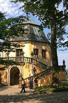 Aussichtsturm auf Schloss Königsstein