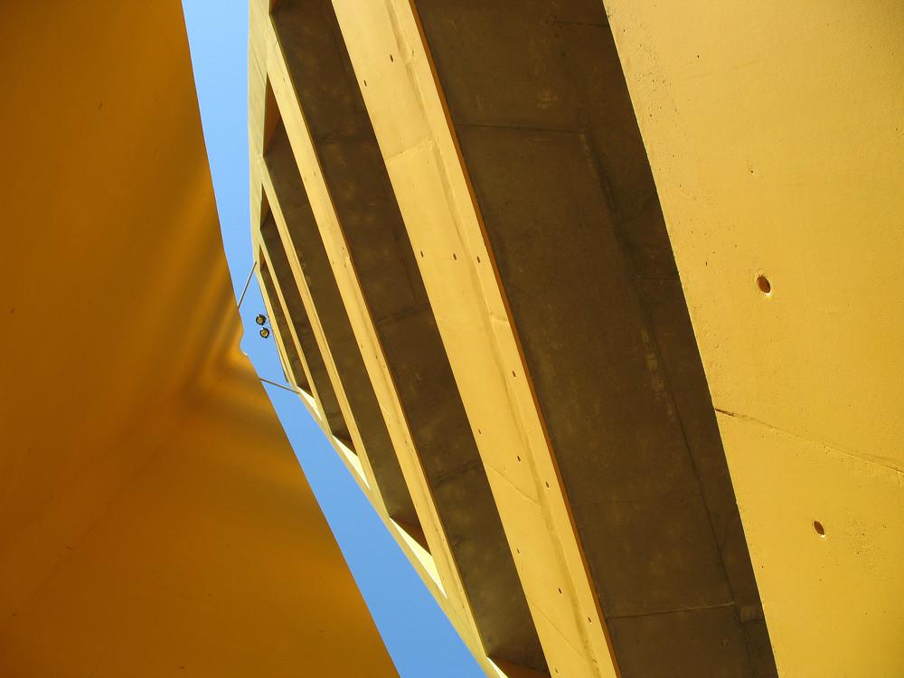 Aussichtsturm ganz anders - am Fundort der Himmelsscheibe von Nebra