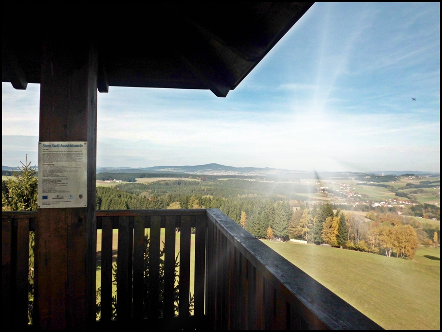 Aussichtswarte Sterngartlblick Haibach